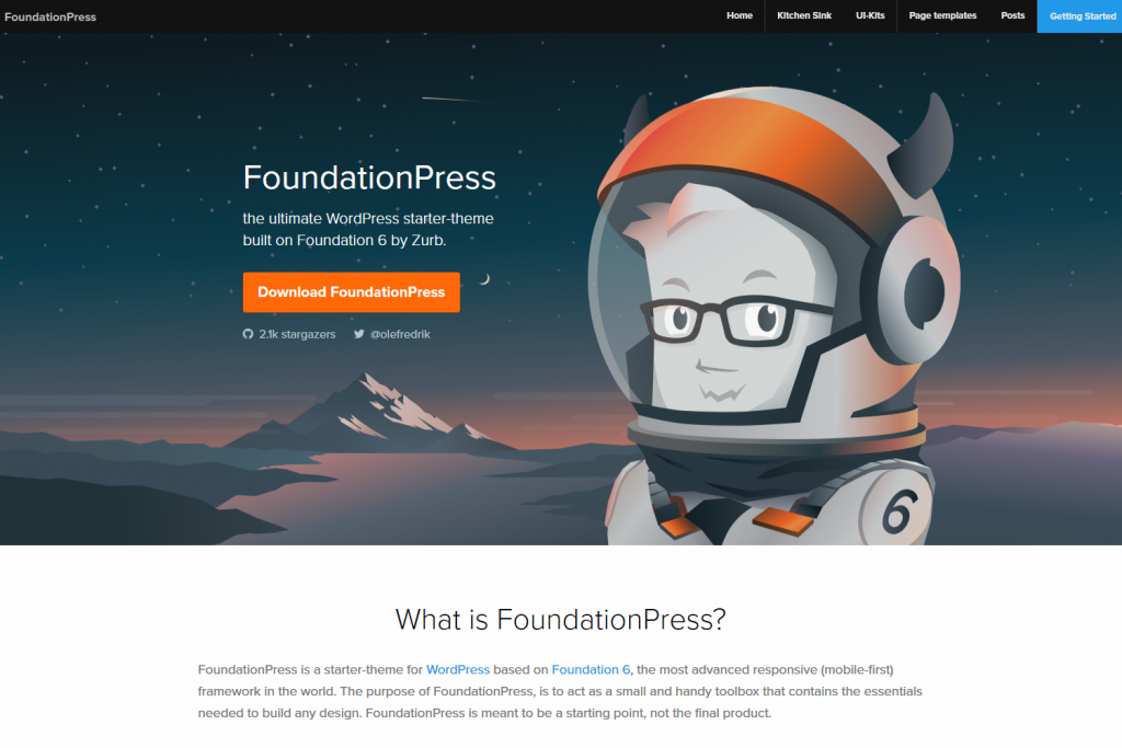 FoundationPress - Starter theme for WordPress